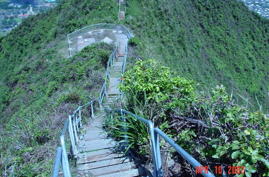 Haiku Stairs Swing Removal