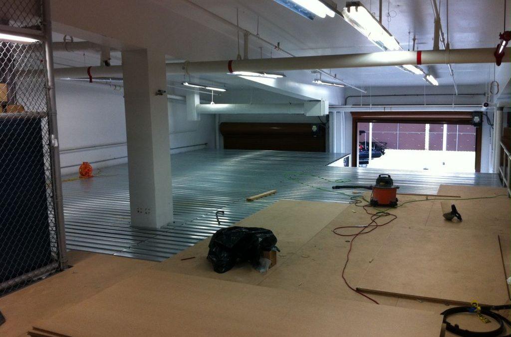 New Mezzanine for EOD MU 5